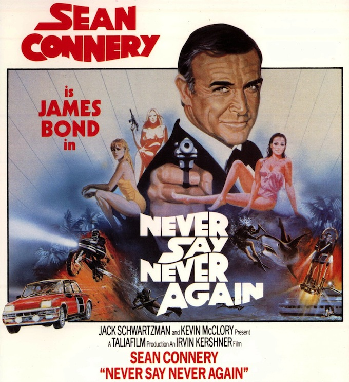 Sean Connery is 007 - Never Say Never Again