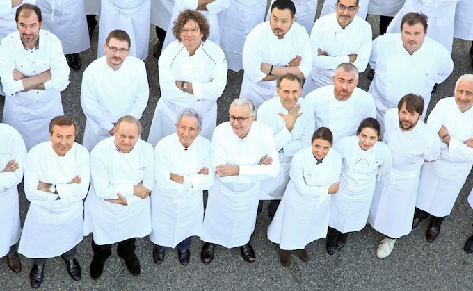 Alain Ducasse and his fellow chefs celebrate 25 years of Le Louis VX in Monaco