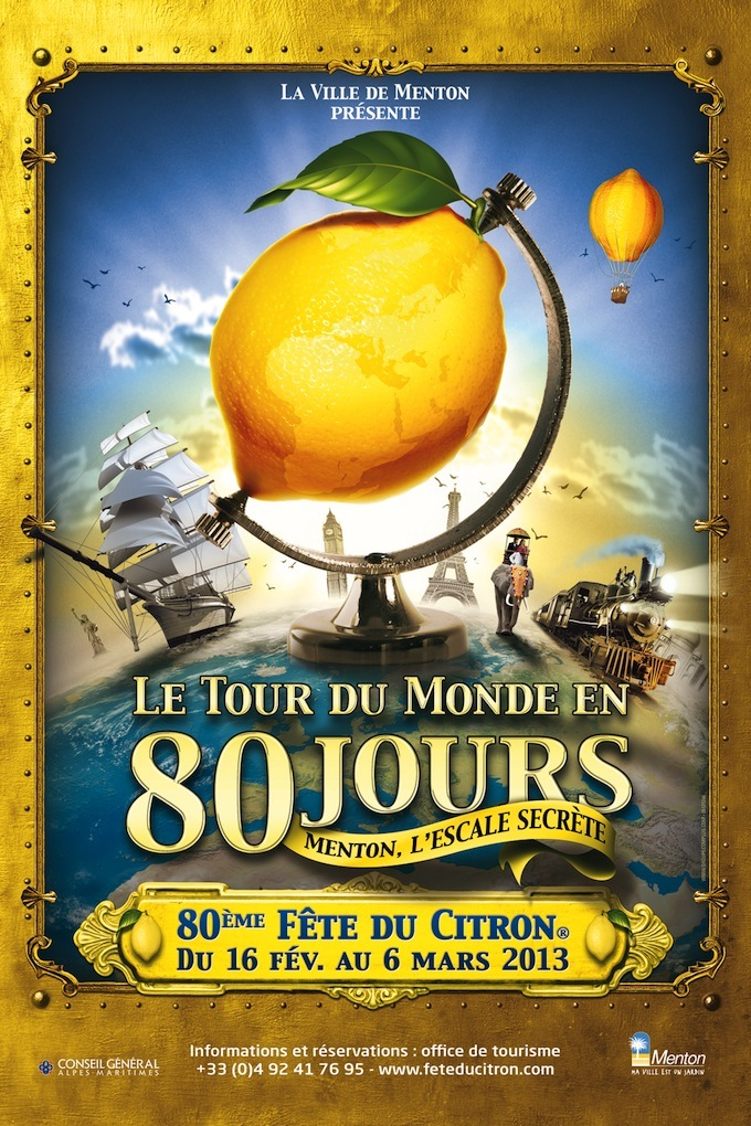 Come to Menton for the 80th Fete du Citron!