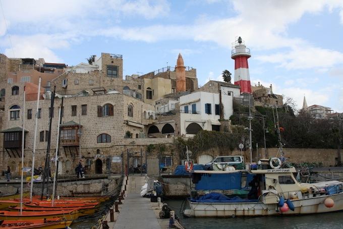 Eilat port in Israel
