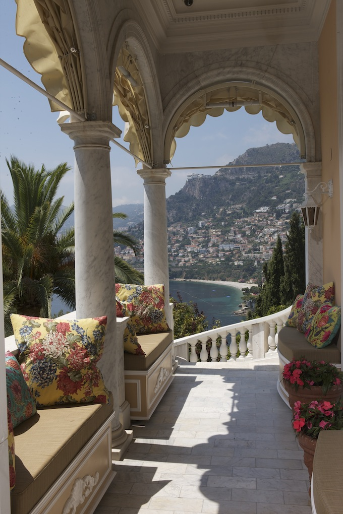 The view from Villa Egerton across to Monaco