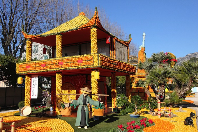 Chinese house in Menton 2013