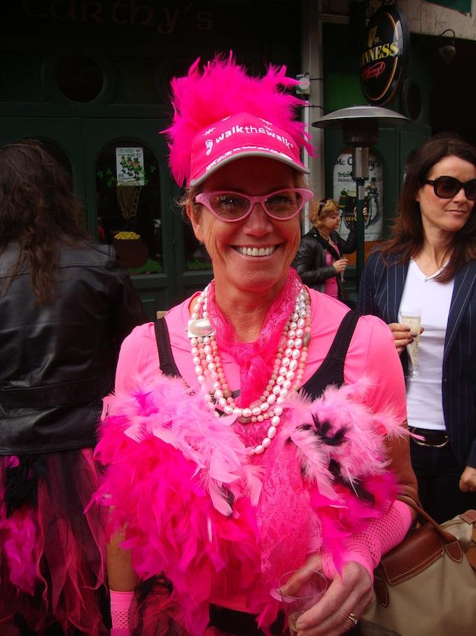 Pink Ribbon Walk 2012 afters!