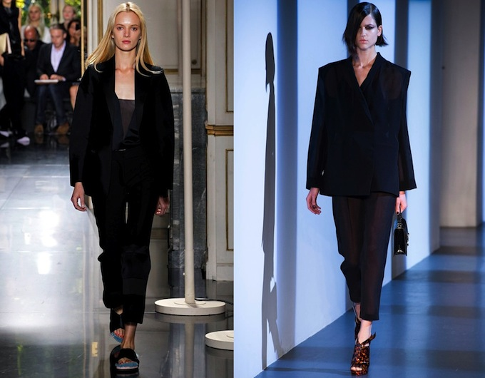 Tuxedos by Céline and Mugler