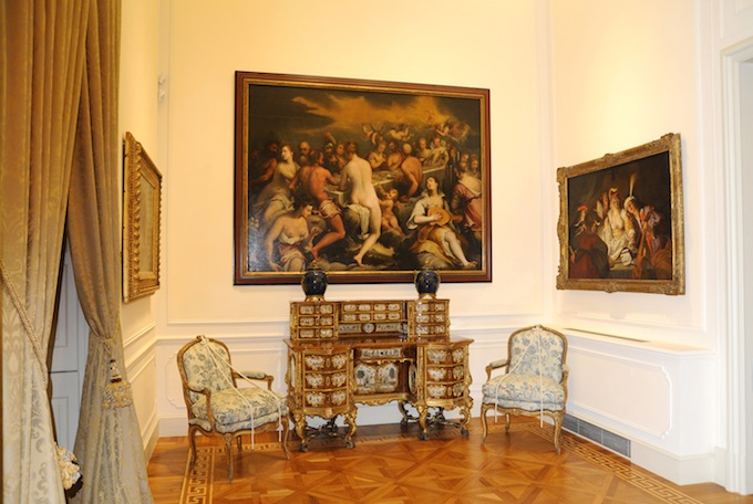 Villa Regina Margherita interior
