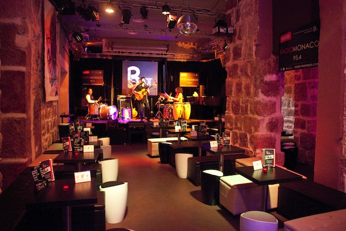 The stage are at the B-Spot in Nice