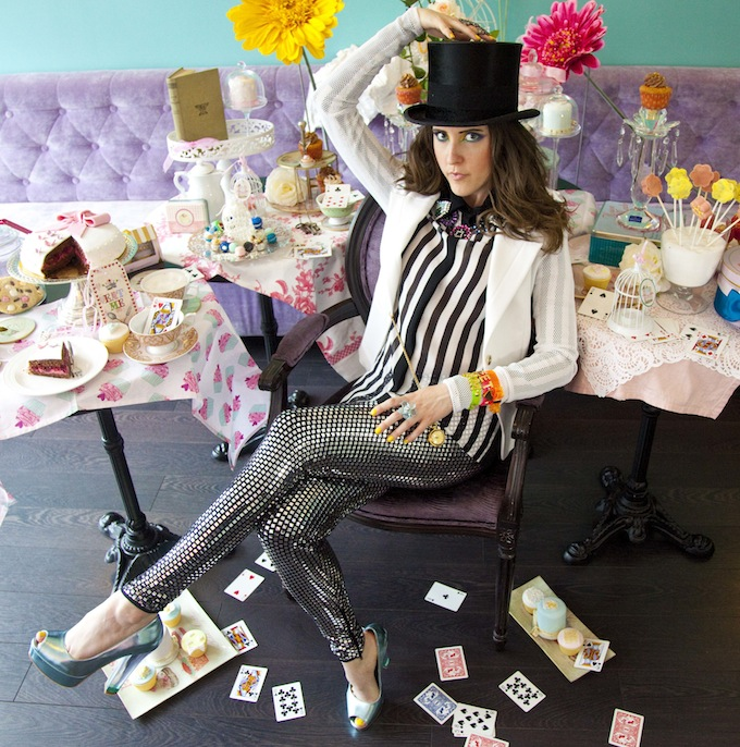 More Mad Hatter fashion!