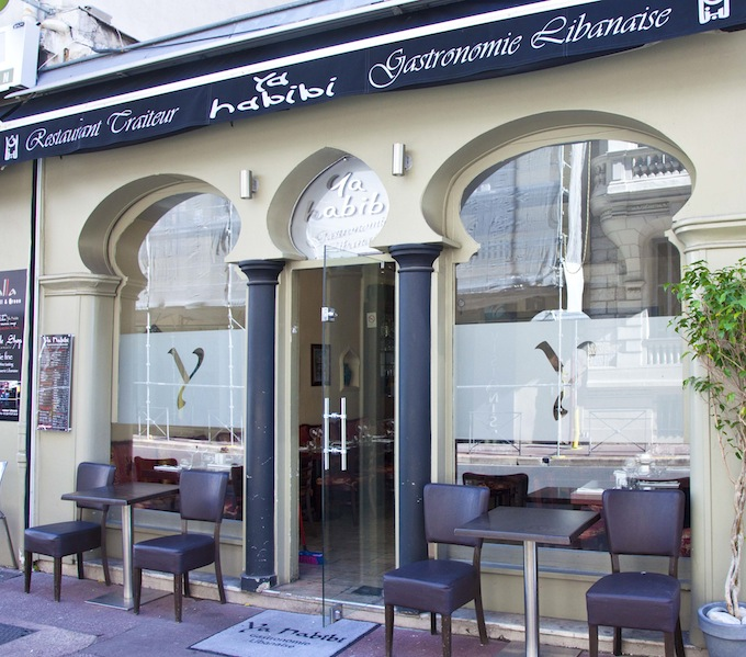 Ya Habibi Lebanese restaurant in Nice