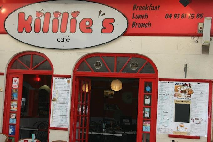 Kililie's Café in Nice