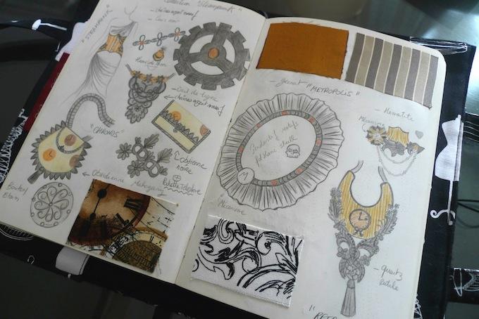Steampunk designs by Manuela Biocca of Victorian Woman