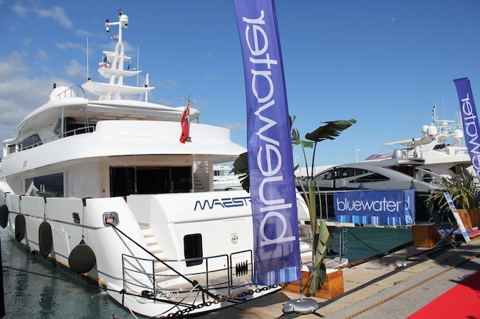 Bluewater at Antibes Yacht Show 2013