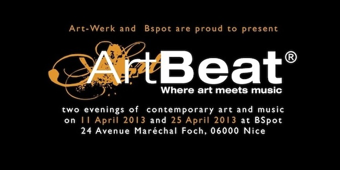 ArtBeat at the B-Spot in Nice this April