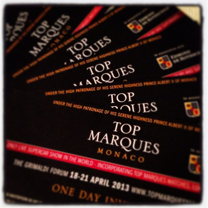 Top Marques Monaco 2013 show