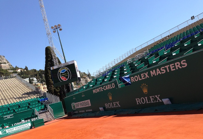 Monte-Carlo is ready for the Rolex Masters!