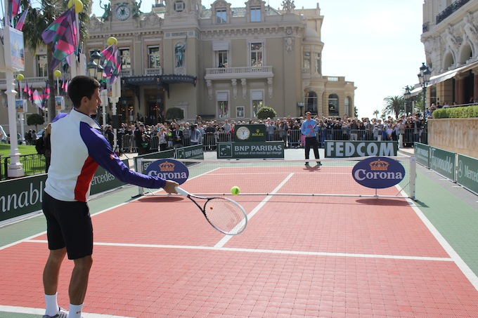 Djokovic and Murray in Monte-Carlo