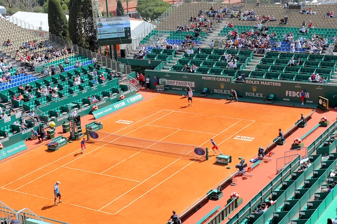 Acton from Centre Court qualifiers in Monte-Carlo