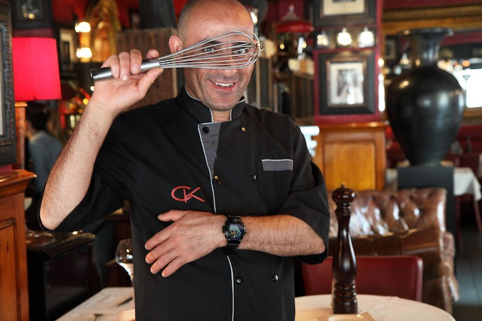 Chef Mongi from Café Kanter in Antibes