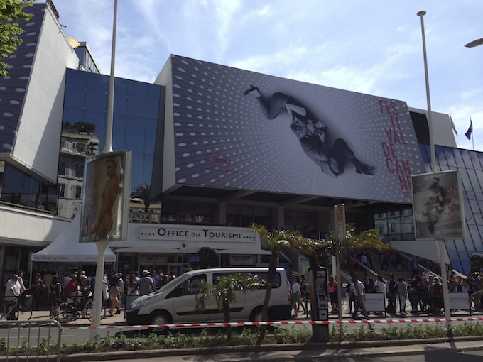 Cannes Film Festival 2013 - the Palais
