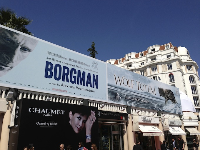 Film promos at Festival de Cannes 2013