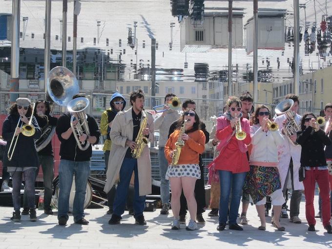 Jazz gathering in Marseille