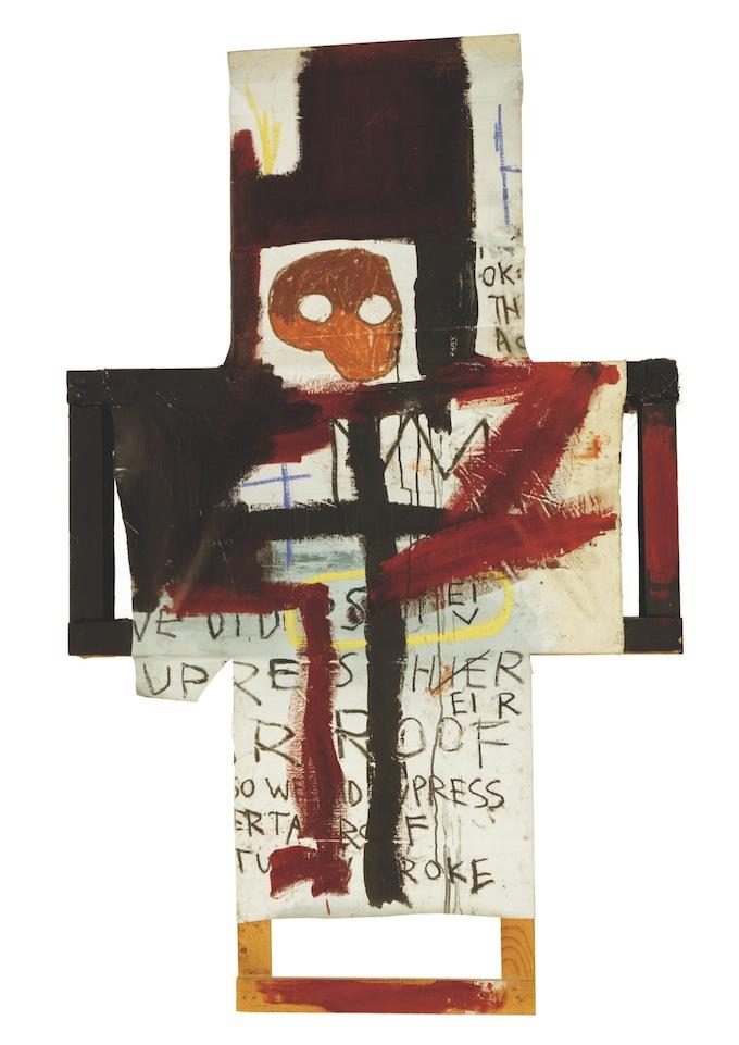Jean-Michel Basquiat - Crisis X