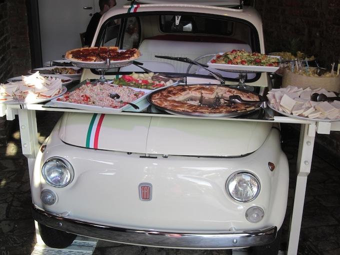 Fiat Buffet in Milan