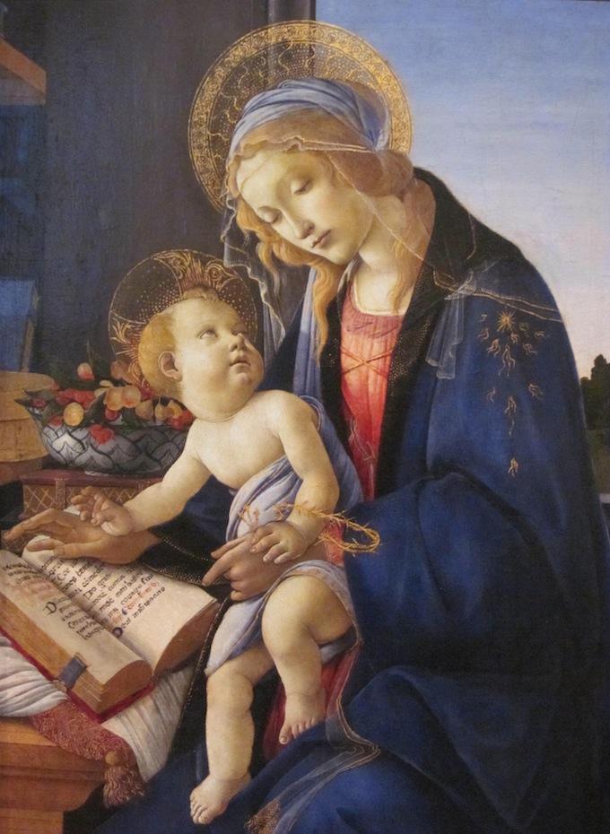 Botticelli Madonna and Child – Museo Poldi-Pezoli in Milan