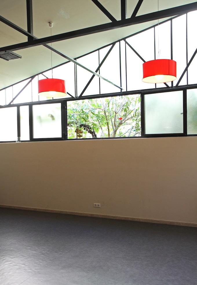 The Sohum Yoga studio in Antibes