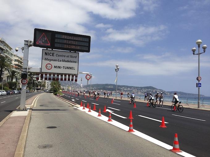 Ironman© France closes Promenade