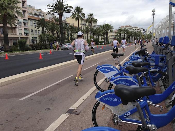 Ironman® France marathon stage