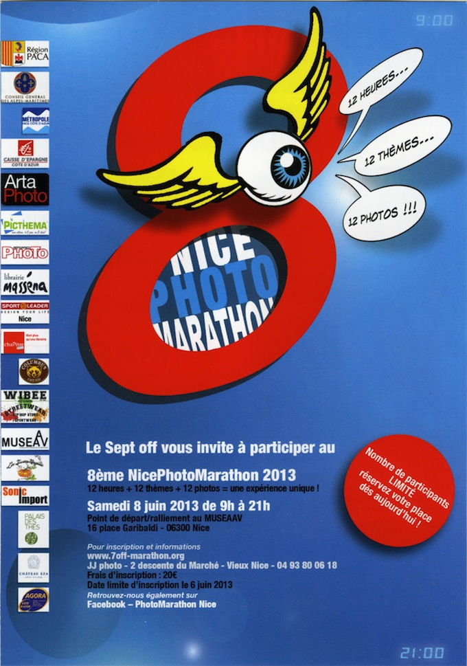 Nice Photo Marathon 2013 poster