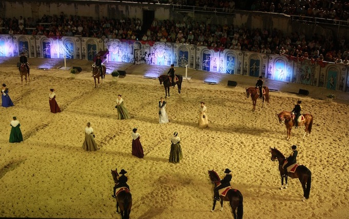 Equestrian events in Arles