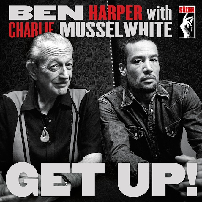 Ben Harper and Charlie Musselwhite Get Up CD cover
