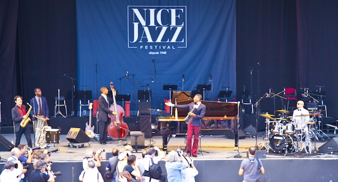 Performing at Nice Jazz Festival 2013