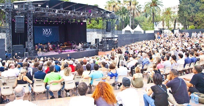 The crowds at Nice Jazz Festival 2013