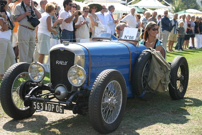 Classic car show at St. Tropez Polo Masters 2012
