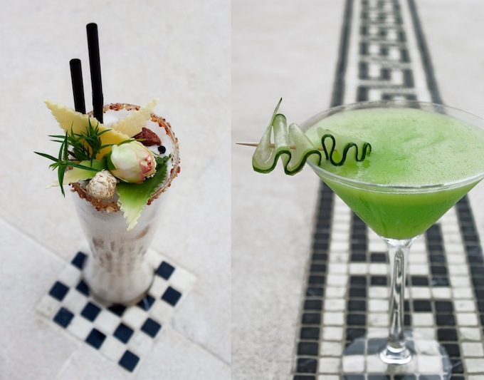 Drinks creations from Odyssey Monte-Carlo