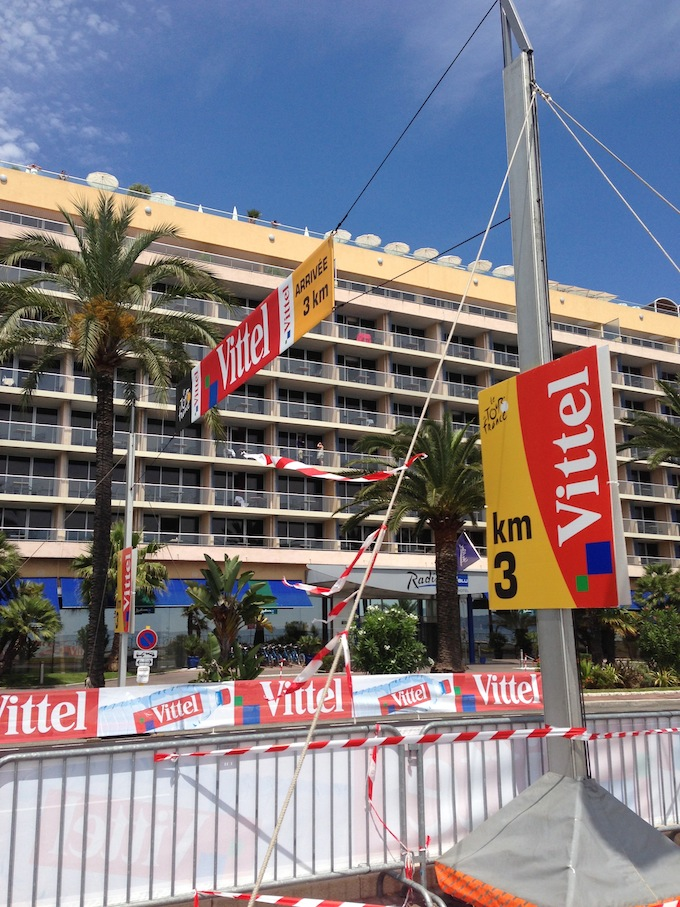 The Tour de France arrives in Nice!