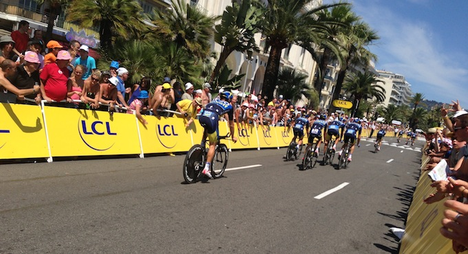 Team Time Trials in Nice for 100th Tour de France