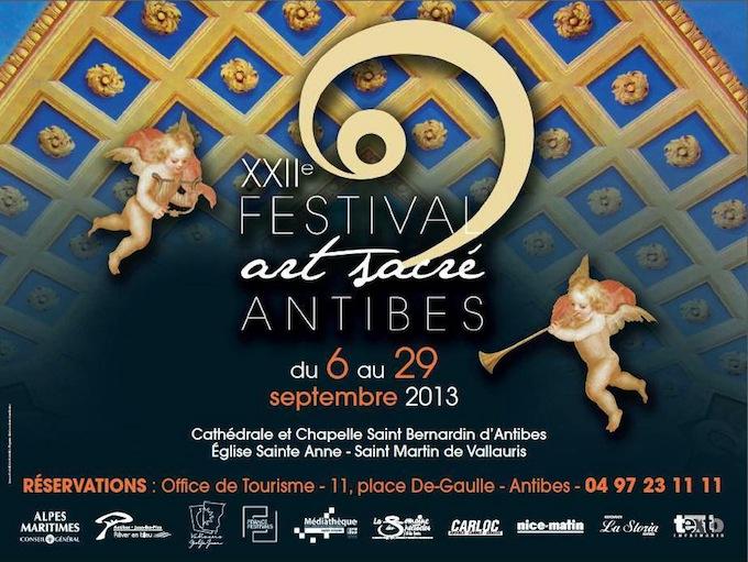 2013 Festival d'Art Sacré in Antibes