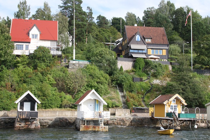 Timber houses in Oslo