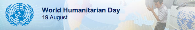 Support World Humanitarian Day 2013