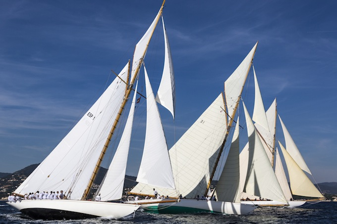 HISPANIA 15M JI participating in Les Voiles de St. Tropez - Photo © Rolex/Carlo Borlenghi