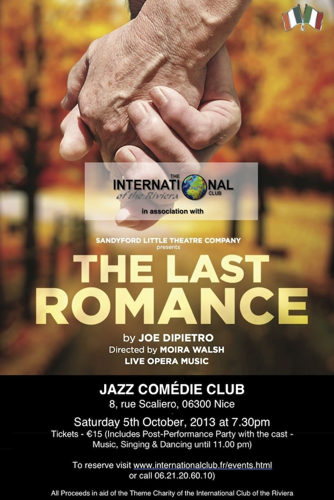 The Last romance comes to Nice