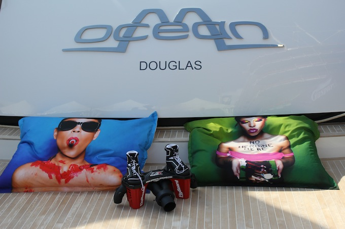 Neat accessories for your yacht at the 2013 Monaco Yacht Show