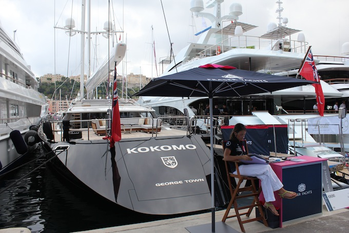 Our lovely friends from Fraser Yachts at the 2013 Monaco Yacht Show