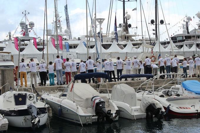 Dutch yachties going crazy at Monaco Yacht Show 2013!