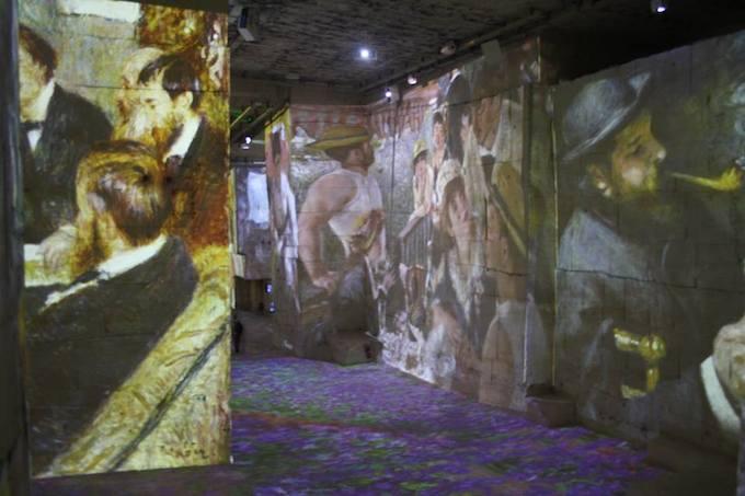 Les Carrières de Lumières 2013 exhibition Monet, Matisse, Chagall