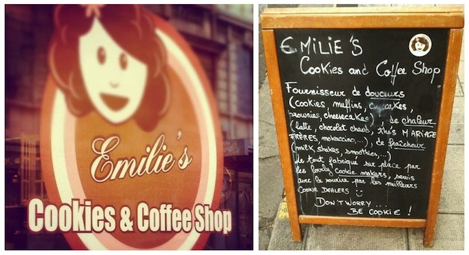 Emilie's Cookies is an institution in Nice