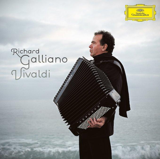 Richard Galliano Vivaldi album cover